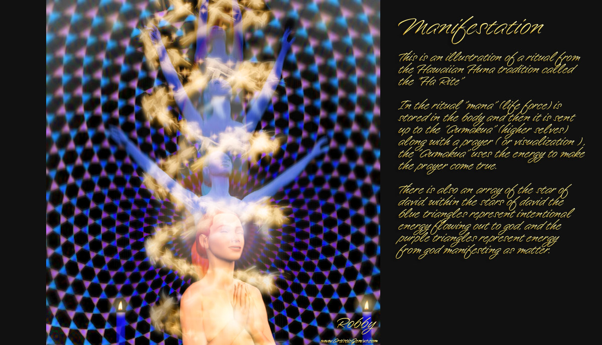 IMAGES TO NOURISH THE SPIRIT AND TOUCH THE HEART Manifestation